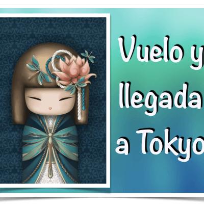 Vuelo y llegada a Tokyo